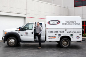Wolter Power Systems Truck